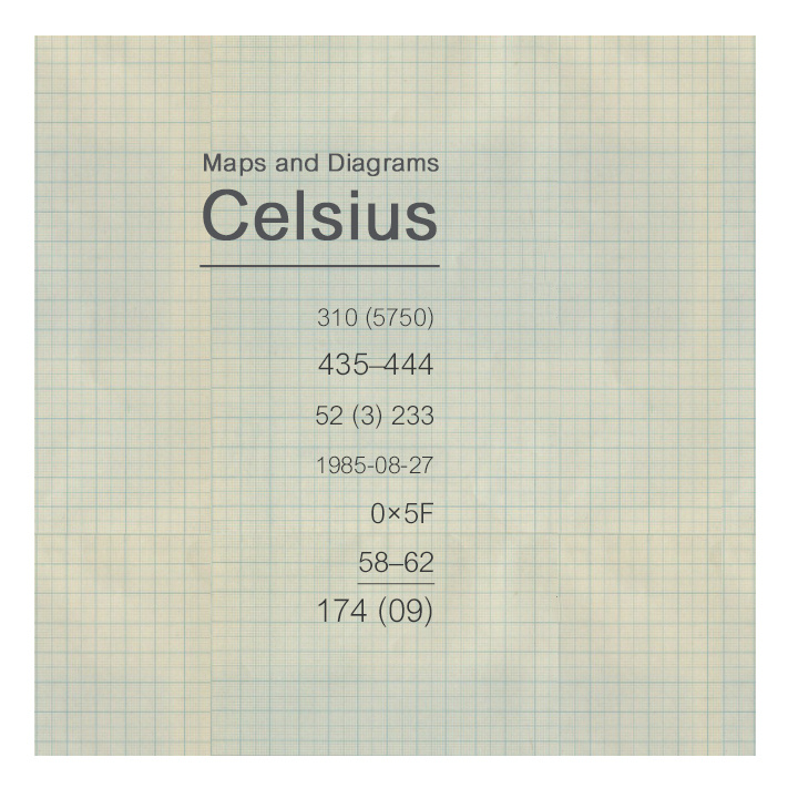 Celsius, by Maps and Diagrams