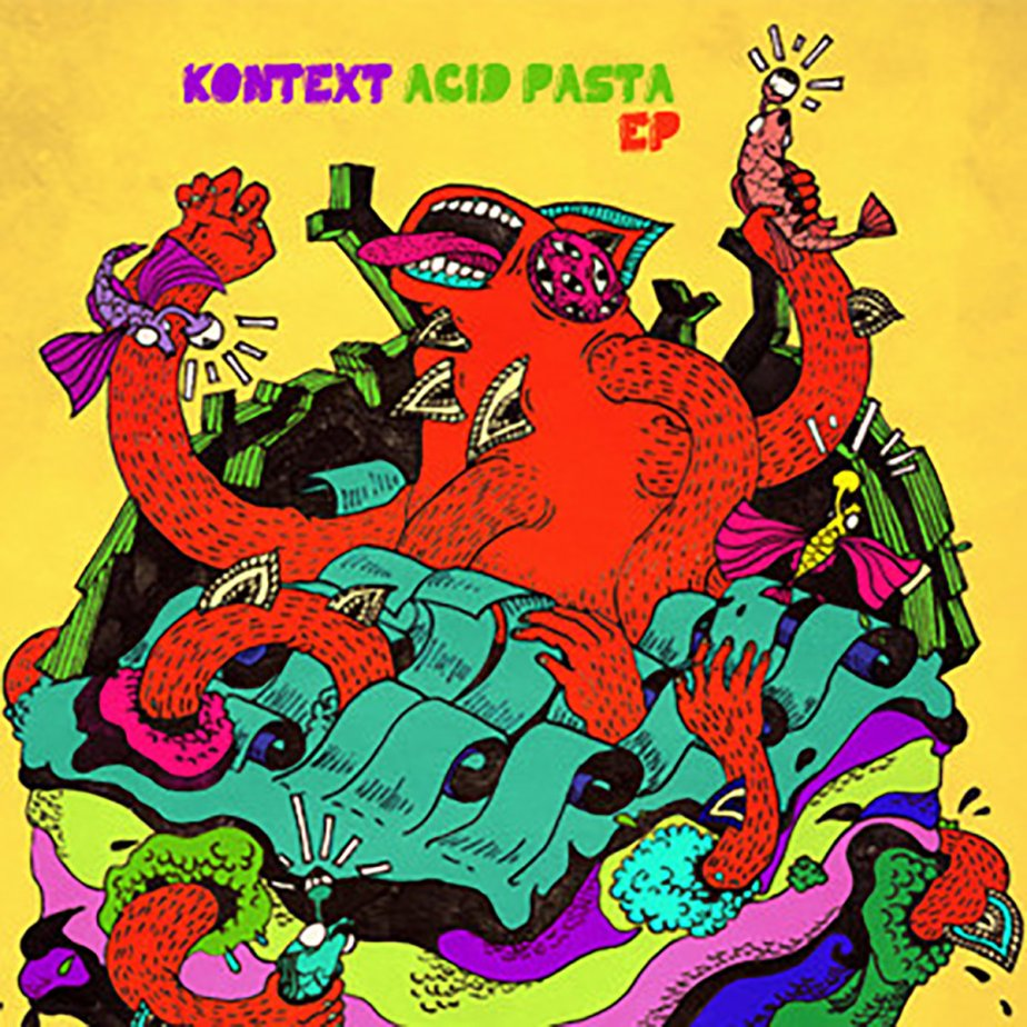 Acid Pasta EP, by Kontext