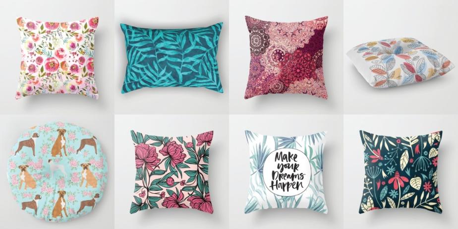 Pillow Roundup #2:Springtime