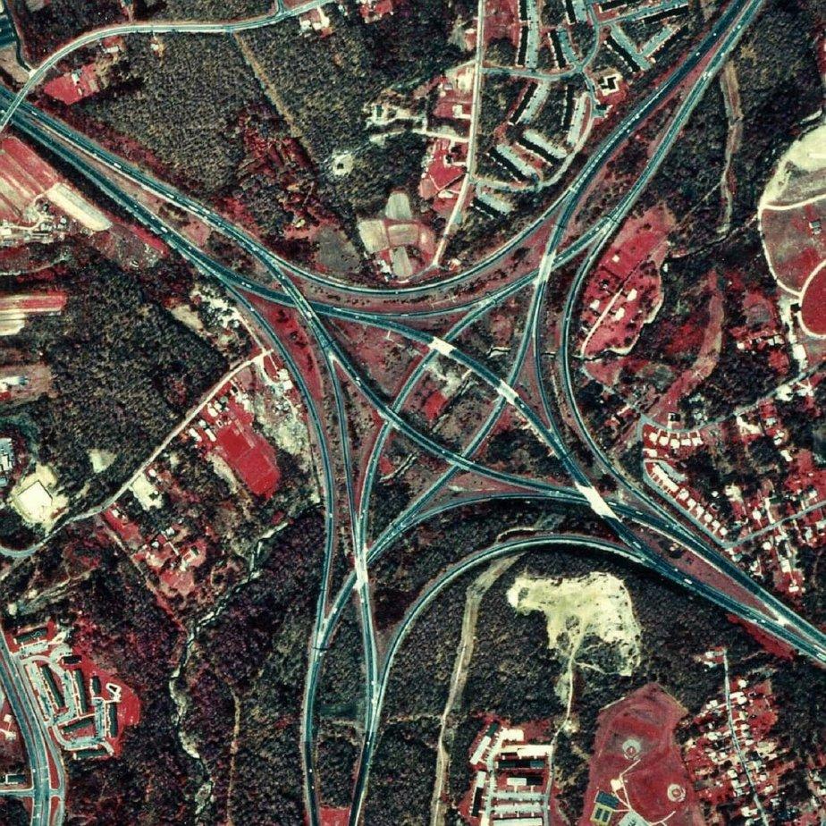 I-95, by I-95 Exit-98- Santee, South CarolinaUSA